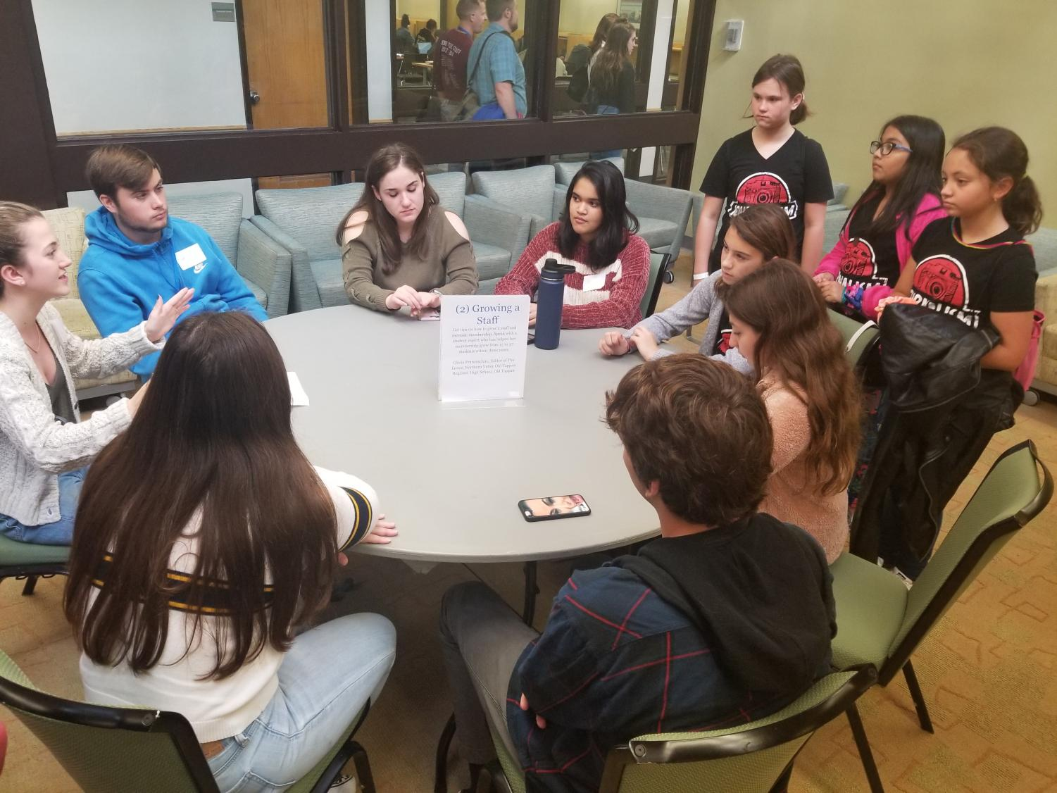 Student leaders share sound advice with peers